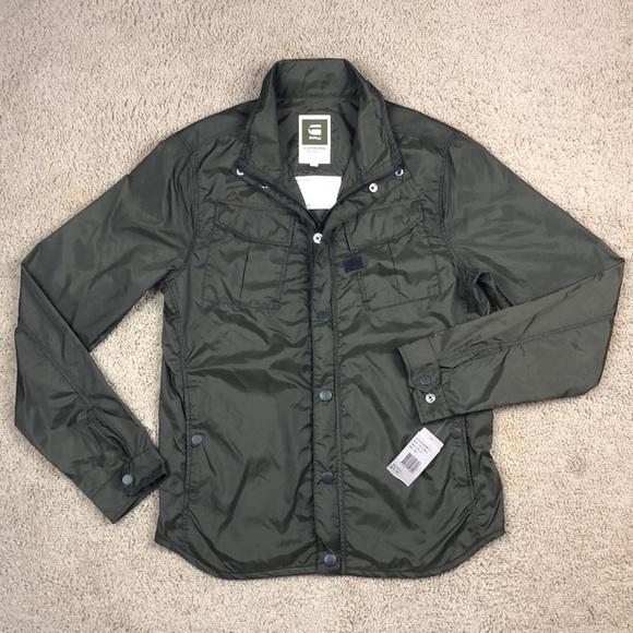 8e2c795e5796 G-Star Raw Filch Combat Overshirt Jacket Medium
